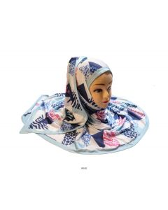 Hijab Scarf Dupatta with Digitally Printed High Quality Jersey Stretchable Material
