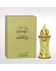 Al Haramain Lamsa Gold Attar 12 ml Pure Original Imported Attar From Dubai UAE