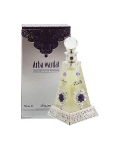 Rasasi Arba Wardat 30ml Attar Original Imported from UAE Unisex