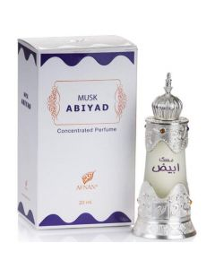 Afnan Musk Abiyad 20ml  Imported Attar Concentrated Perfume oil