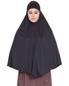 Prayer Hijab Black Color