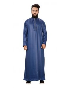 Galaxy Blue Saudi Classic Thobe