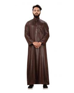 Classic Brown Saudi Thobe